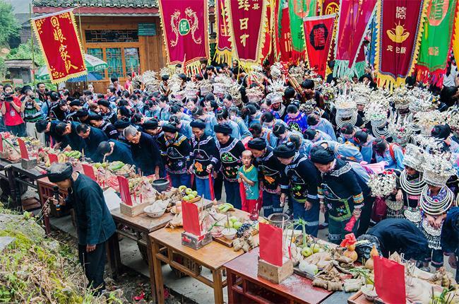 侗族瑶白摆古节