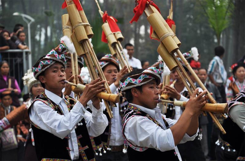 贵州凯里甘囊香国际芦笙节